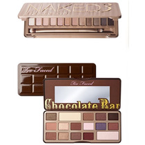 Paleta Chocolate Bar + Naked3 ***urban Decay*too Faced*