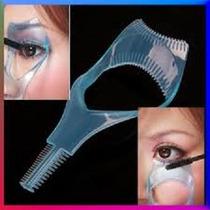 Peine Protector Sombras Y Maquillaje Pestañas Ojos Rimel