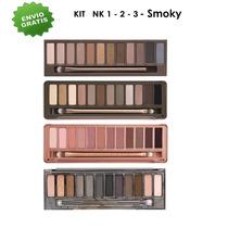 Kit Sombras Para Ojos Naked 1 2 3 Y Smoky (envío Sin Costo)