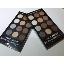 Nueva Paleta City Color Brown Sugar