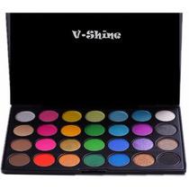 Paleta De 28 Sombras * V·shine * Super Pigmentada