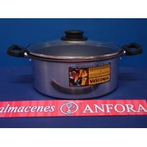 Aluminio Cacerola 22 Cma Aluminio Con Antiadherente Y Tapa D
