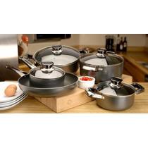 Bateria De Cocina Royal Cook Chanteu Aluminio 9 Pzas