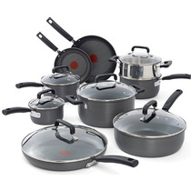 Set De Sartenes T-fal C770sf63 Signature Hard Anodized