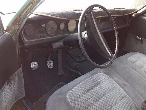 Opel Fiera 1968 Proyecto De Restauracion O Piezas De Remate