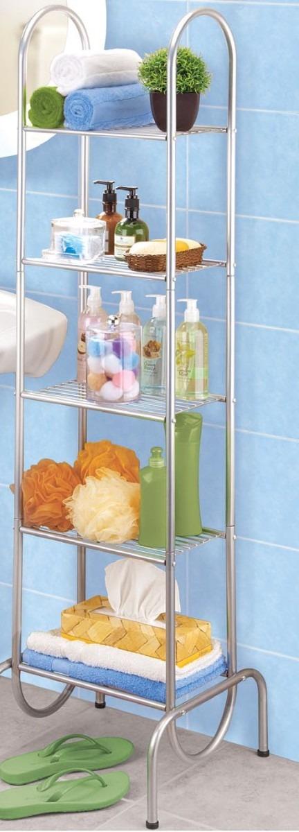Hacer Organizador De Baño:Organizador Para Baño 5 Repisas 12014-p – $ 64900 en MercadoLibre