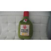 Cojin En Forma De Botella Con Mensaje Medidas 45x19