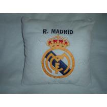 Almohada De Real Madrid Bordada Y De Calidad Para Tu Bebe