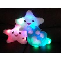 Estrella Almohada Con Luces De Colores Pila Doble A