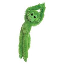 Mono De Juguete - Aurora Brillante Verde 50cm Colorido Colga