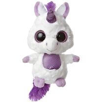 Oso Lemur Yoohoo Unicornio Peluche 15 Cm Aurora