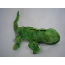 Iguana Verde Muy Real De 57cms De Larga Gran Detalle