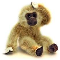 Gibbon Soft Toy - Keel Toys 20cm Mono Chimpancé Salvaje Saf