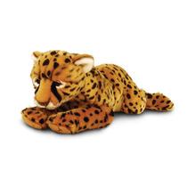 Cheetah Peluche - Keel Toys 46cm Acostado La Fauna Del Gato