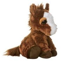 Caballo Pony Dreamy Eyes Juguete Peluche Aurora Importado