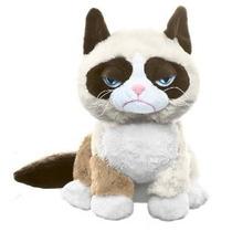 Ganz Gruñón Gato Que Se Sienta 8 Plush