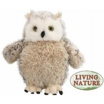 Owl Peluche - Vivir La Naturaleza Grande Súper Novedad Mimo