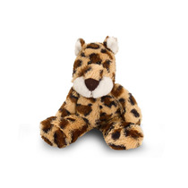 Leopard Soft Toy - Floppy Salvaje 15cm Childrens Mimosa