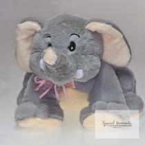 Elefante De Peluche - Paquete De Mamá E Hijo Para Regalo