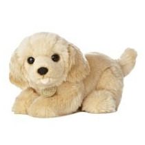 Labrador Perro Oso Miyoni Hecho A Mano Peluche Aurora