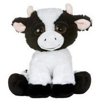 Vaca Dreamy Eyes Juguete Peluche Aurora Importado