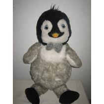 Peluche Happy Feet 2 Pinguino Build A Bear Prende Moño
