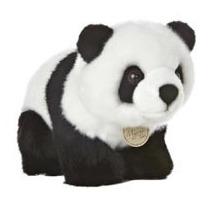 Panda Oso Miyoni Hecho A Mano Peluche Aurora 25 Cm