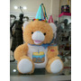 Oso De Peluche Musical Canta Happy Birthday 44 Cm Etiquetado