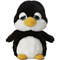 Pinguino Dreamy Eyes Ojones Juguete Peluche Aurora Importado