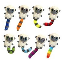 Oso Lemur Yoohoo Colores Peluche 15 Cm Aurora