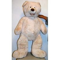 Teddy Bear Oso De Peluche Gigante De 1.34 Mts Color Blanco