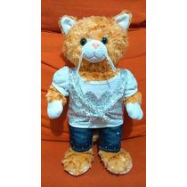 Build A Bear Linda Gata Gatita Peluche 45 Cm. Ropa Original