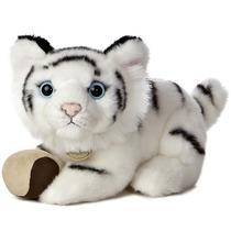Tigre Blanco Miyoni Hecho A Mano Oso Peluche Aurora