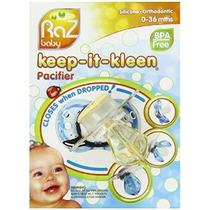Razbaby Keep-it-kleen Chupete Bobby Oso