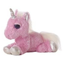 Unicornio Dreamy Eyes Ojon Juguete Peluche Aurora Importado