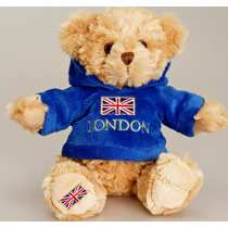 Londres Peluche - Scottish Capucha Oso 15cm Childrens Peluch
