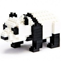 Nanoblocks - Animales Nbc-019 - Panda Gigante