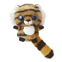 Oso Lemur Yoohoo Tigre Peluche Con Sonido 15 Cm Aurora