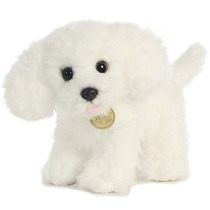 French Poodle Miyoni Hecho A Mano Oso Peluche Aurora