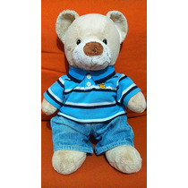 Build A Bear Workshop Oso Osito Peluche 37 Cm. Ropa Original