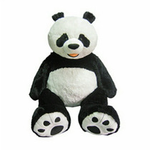 Oso Panda De Peluche! 1.34 Mts De Altura Con Envío Incluido