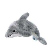 Delfin De Peluche Aurora Mini Flopsie
