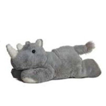 Rinoceronte De Peluche Aurora Mini Flopsie