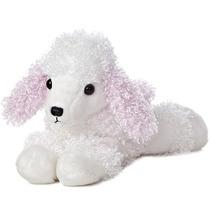 French Poodle Perro Flopsie Oso Peluche Aurora Importado
