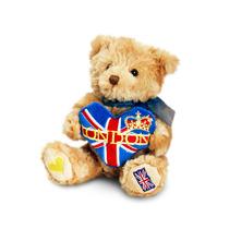 Londres Peluche - Oso Corazón 15cm Childrens Peluche Teddyb