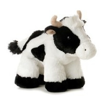 Vaca Flopsie Oso Peluche Aurora Importado