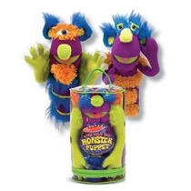 Melissa & Doug Deluxe Fuzzy Make-your-own Monster Títeres