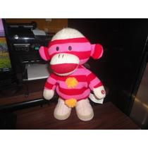Peluche Monkey Sock Bailando Y Suena