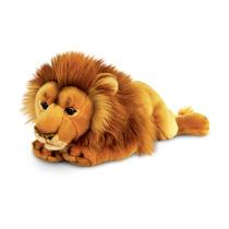 León De Peluche - Keel Toys 46cm Acostado La Fauna Del Gato