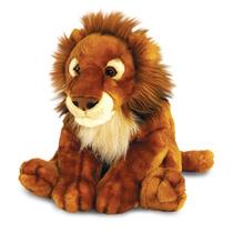 León De Peluche - Keel Toys Grande 50cm Vida Silvestre Mull